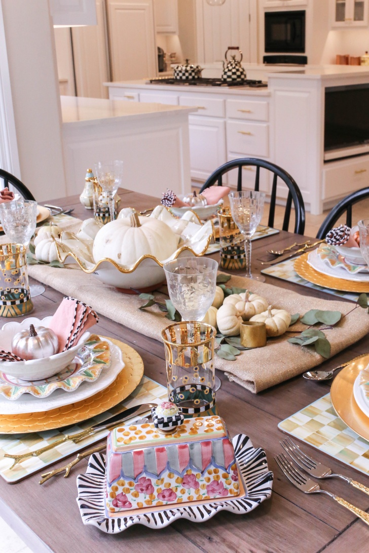 Camp Mackenzie Childs My Thanksgiving Tablescape