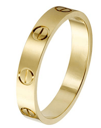 cartier ring dupe